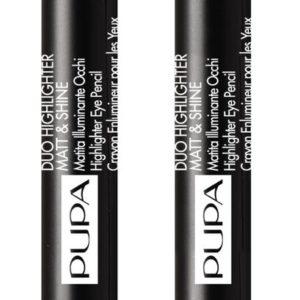 Pupa Duo Highlighter Matt & Shine 001
