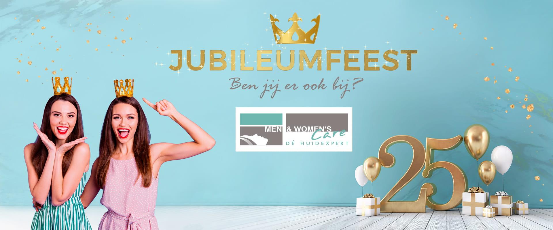 Kom jij ook naar ons jubileum feest?