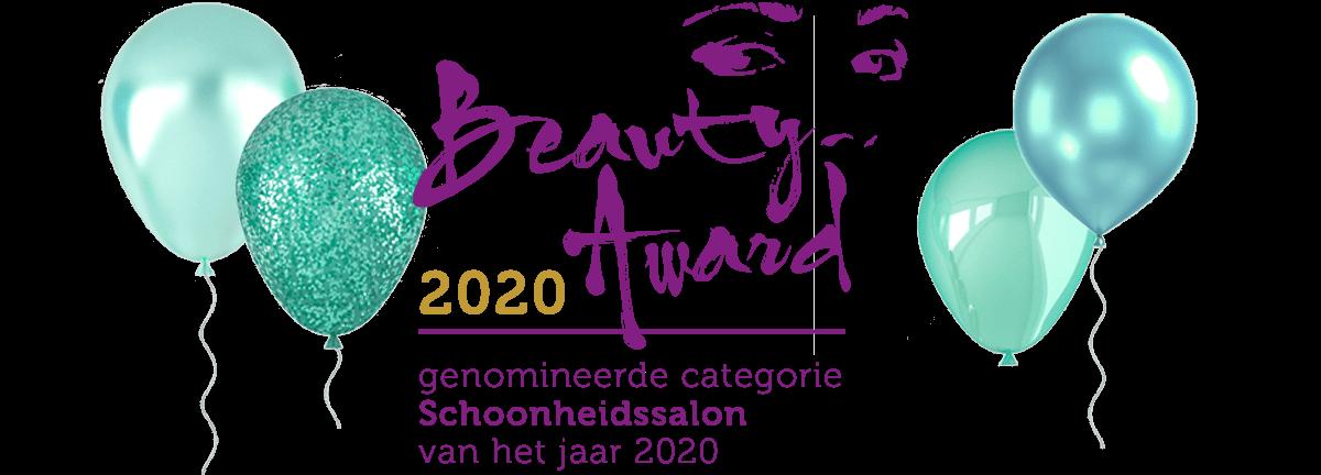 Genomineerd Beauty Awards Schoonheidssalon 2020